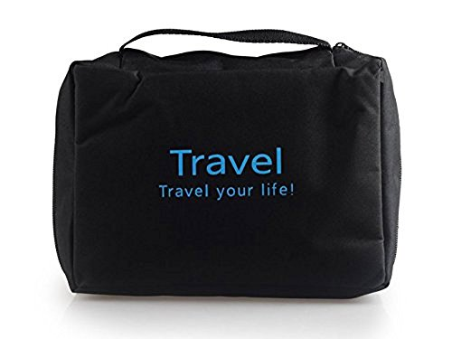 SyncTech Hanging Toiletry Portable Tote Bags Travel Accessories Handy Personal Items Organizers (1.) - Ll Day Sale Bean Father's
