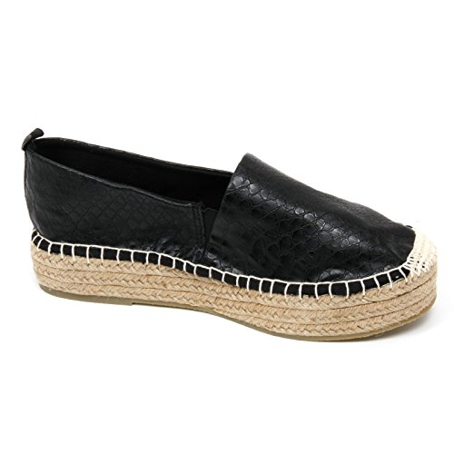 ESPADRILLAS DONNA NERO ESPADRILLAS Nero IMPERFECT DONNA IMPERFECT NERO XpSIq