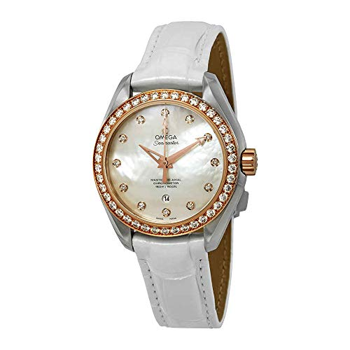 Omega Seamaster Aqua Terra Diamond Ladies Watch 231.28.34.20.55.003