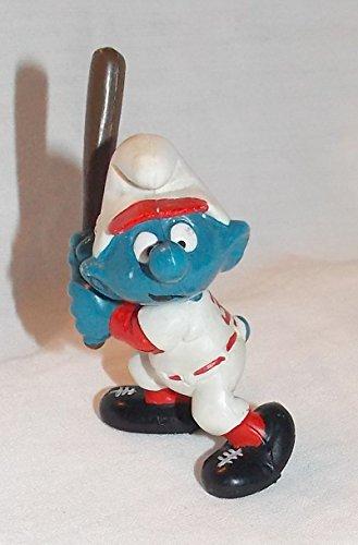 (1980 Vintage Smurf Baseball Batter 2