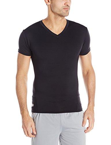 Under Armour UA1216010S-L Tactical T-Shirt V-Neck HeatGear, Schwarz, L