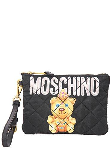 Moschino - Printed clutch