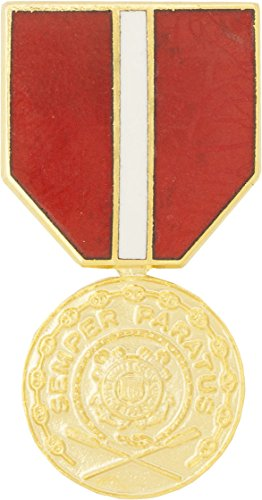Coast Guard Good Conduct Medal Hat Pin