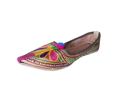 Kalra Creations - Zapatos de Piel para Mujer e5cd62fc3fdd