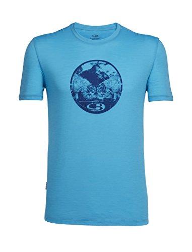 2018 Challenge Tech Hombre Capri Camiseta Azul Manga Corta Icebreaker Lite qU0nv70Z