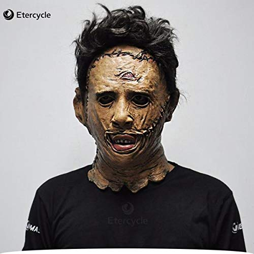 Halloween Mask The Texas Chainsaw Massacre Leatherface Masks Scary Movie Cosplay Halloween Costume Props Michael Myers High Quality Toys - Texas Chainsaw Massacre Halloween Masks