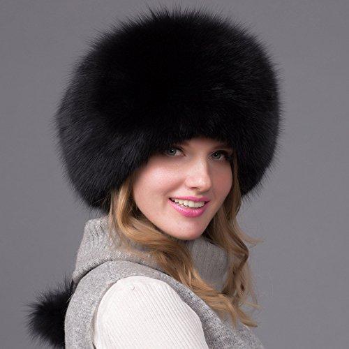 noir  Wuyulunbi@ pour l'hiver Chapeaux Chapeaux
