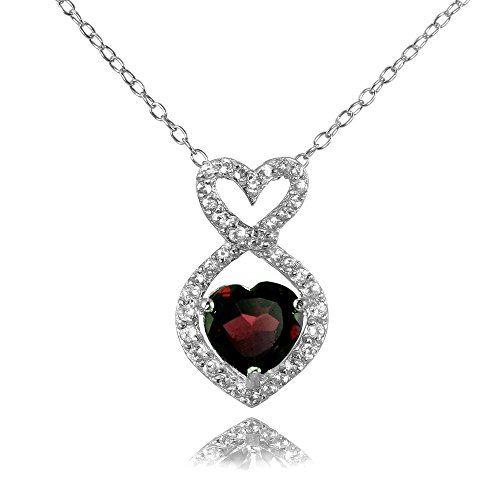 heart gem necklace - 4