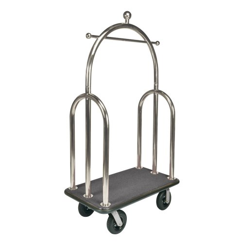 csl-3599bk-010-gry-trident-style-stainless-steel-finish-bellmans-cart-with-gray-carpet-base-black-bu