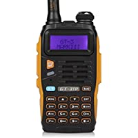 Baofeng Pofung GT-3TP Mark-III Two-Way Radio Transceiver, Dual Band 136-174/400-520 MHz Power Two-Way Radio