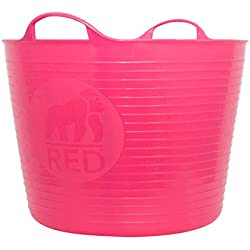 TubTrug SP42PK Large Pink Flex Tub, 38 Liter