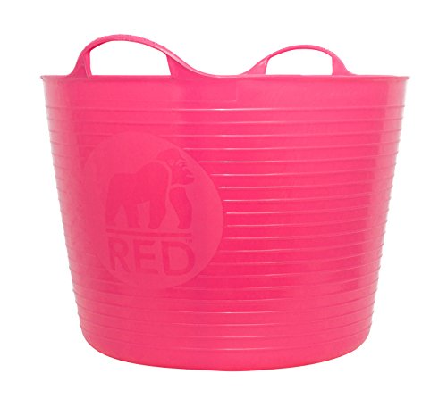 TubTrug SP42PK Large Pink Flex Tub, 38 Liter]()