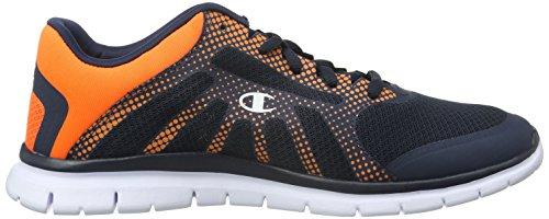 Low Cut Shoe Alpha, Zapatillas de Running para Hombre, Azul (Navy Blazer New Navy/New York Knicks Orange RGE 2257), 39 EU Champion