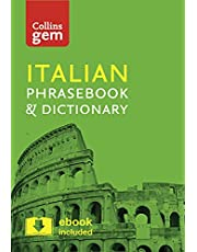 Collins Italian Phrasebook and Dictionary Gem Edition: Essential phrases and words in a mini, travel-sized format