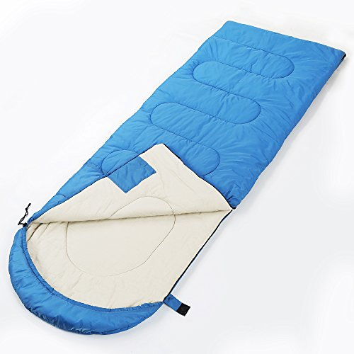 Sleeping Bag,CRAZO Premium Hooded Envelope