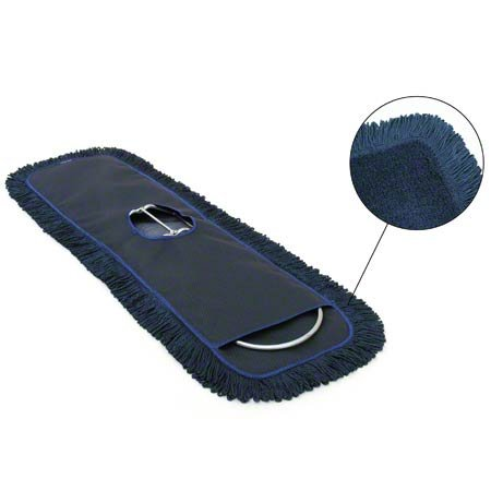 Image of Health and Household 36' MaxiPlus Microfiber Dust Mop, Blue (Pack of 6)