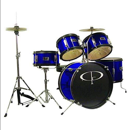 GP 5pc Jr Drum Kit BluE - by Aromzen