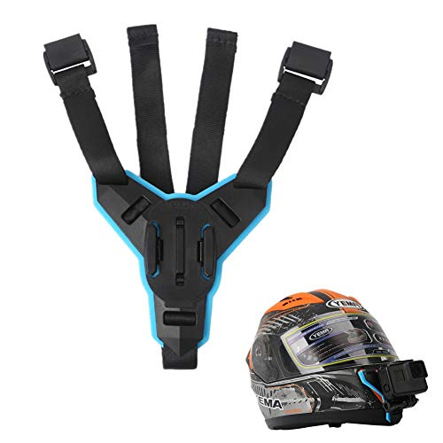 Motorcycle Helmet Chin Mount Compatible for GoPro Xiaomiyi 4k Sjcam Eken - Motorcycle Gopro 4 Mount Helmet
