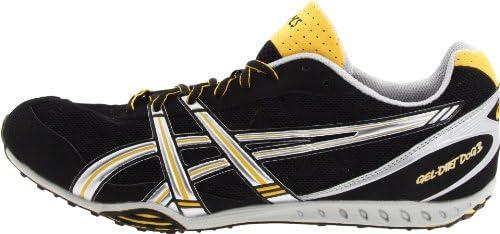 ASICS Men's Gel Dirt Dog 3 Track & Field Shoe, BlackSilver