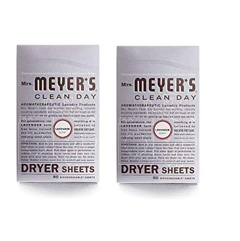 Mrs. Meyer's Clean Day Dryer Sheets - Lavender - 80 ct - 4 pk by  (Image #1)