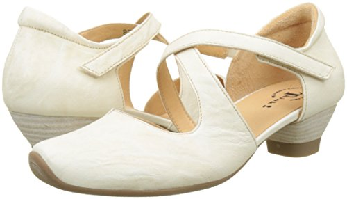 Ivory 282240 Off Women's Strap Ankle Aida Think white Heels 95 95 ivory cWvpRxy