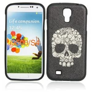 Silicone Case for Samsung I9500 Black & Human Skeleton