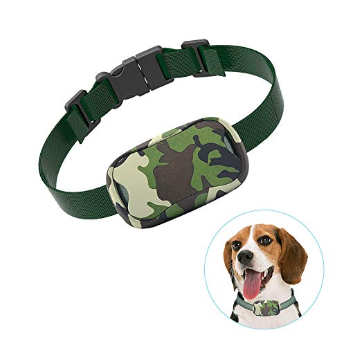 POP VIEW Dog Anti Bark Collar, Small, Medium, Large Dogs, 7 Adjustable Levels with Sound and Vibration, No Shock, Harmless & Humane, Stops Dogs Barking v2