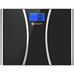 Etekcity Digital Body Weight Bathroom Scale with Ultra Wide Platform and Easy-to-Read Backlit LCD, 440-Pounds