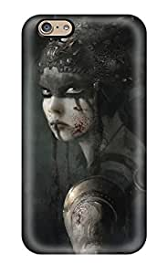 SuzanneW Scratch-free Phone Case For Iphone 6- Retail Packaging - Hellblade