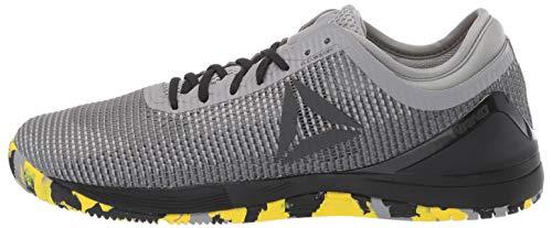 Reebok Men's CROSSFIT Nano 8.0 Flexweave Cross Trainer, Shark/Tin Grey/Ash Grey/Black/Go Yellow, 6.5 M US by Reebok (Image #5)