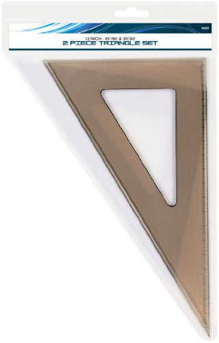 (Art Advantage 12-Inch Triangle Set)