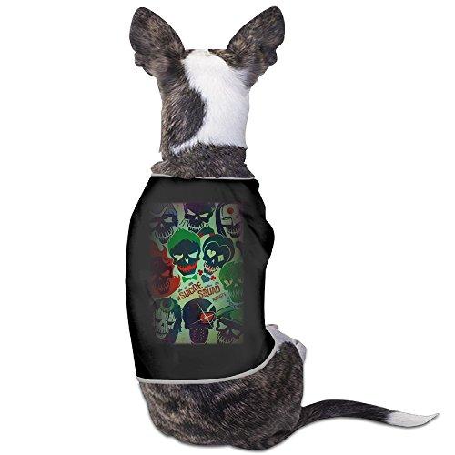 Cute Suicide Squad Movie Poster Pet Dog T (Suicide Squad Margot Robbie Costume)