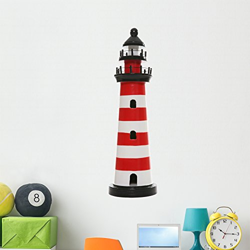 Wallmonkeys WM232498 Lighthouse Peel and Stick Wall Decals (48 in H x 32 in W), Extra Large