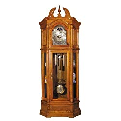 ACME 01410 Rissa Grandfather Clock, Oak Finish