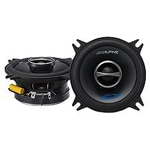 "Alpine Type-s SPS-410 4"" 2-way Car Audio Speakers (Pair)"