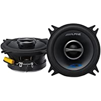 Alpine Type-S SPS-410 4 Coaxial 2-Way Car Audio Speakers