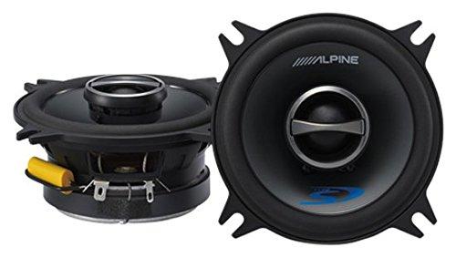 Amazoncom Alpine TypeS SPS410 4 Coaxial 2Way Car Audio