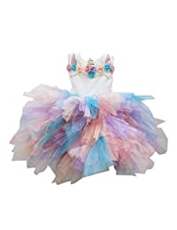 SODI Alta Costura Vestido de Ceremonia para niña Princess Unicornio