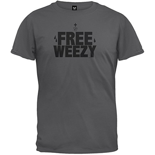 Free Weezy Charcoal T-Shirt