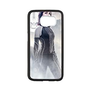 The Hunger Games Catching Fire Johanna Samsung Galaxy S6 Cell Phone Case White&Phone Accessory STC_119390