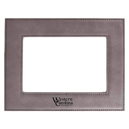 Western Carolina University-Velour Picture Frame 4x6-Grey