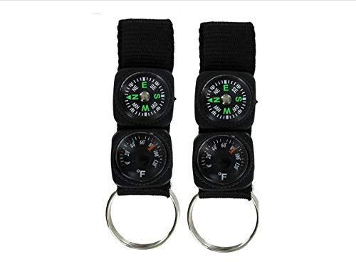 - EDOG USA CARABINERS & Carabiner Straps, Key Rings & Unique Accessories | Assorted & Tactical Colors | Multiple Sizes, Shapes | Multiple Types of Accessories (Strap Compass & Thermometer)