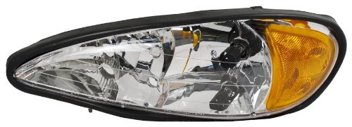 Grand Type Am Pontiac (OE Replacement Pontiac Grand AM Driver Side Headlight Assembly Composite (Partslink Number GM2502196))