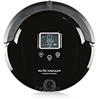 Amtidy A320 New Automatic Robot Vacuum Cleaner with 4-in-1 Multifunctio-black