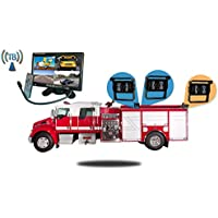 Tadibrothers 7 Inch Wireless Ultimate Fire Truck Backup Camera System