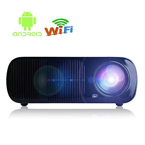 iRULU 20 Pro Android Wi-Fi Smart Video Projector Portable Home Theater LED HD 1080P Cinema Max 200