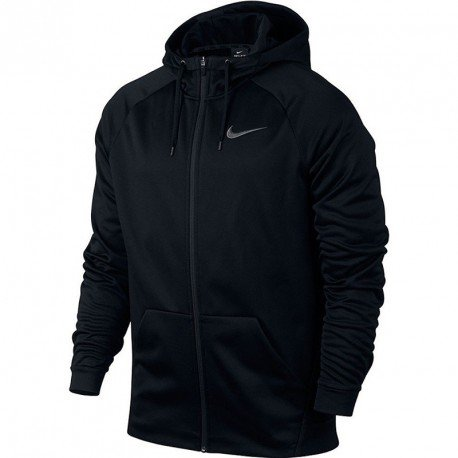Nike Men Therma Training Hoodie Black, Dark Grey 800187-010 Size S