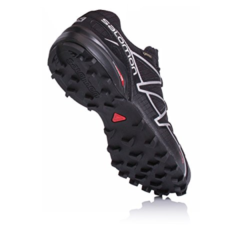 Si Trail Uomo Scarpe Speedcross nero 4 da GTX Salomon Running pf6xgU