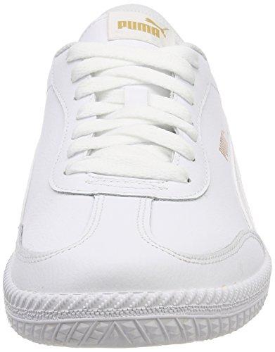 Adultes De puma blanc 03 L Astro White Puma Formateurs Mixte Blanc Tasse Noir Puma xq7zXXE
