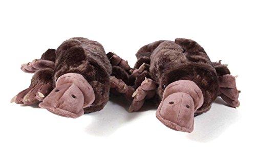 Happy Feet 50+ Styles - Premium Full Foot Mens and Womens Animal Slippers Platypus UqDXyvV7